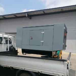 25 kva silent diesel generator delivered and installed in Germiston