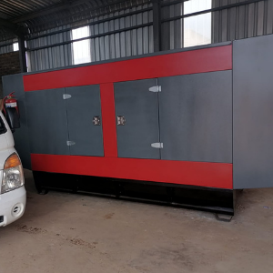 200kva Lovol silent diesel generator delivered and installed in Francistown, Botswana