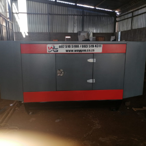 40kva silent diesel generator delivered and installed in Durban